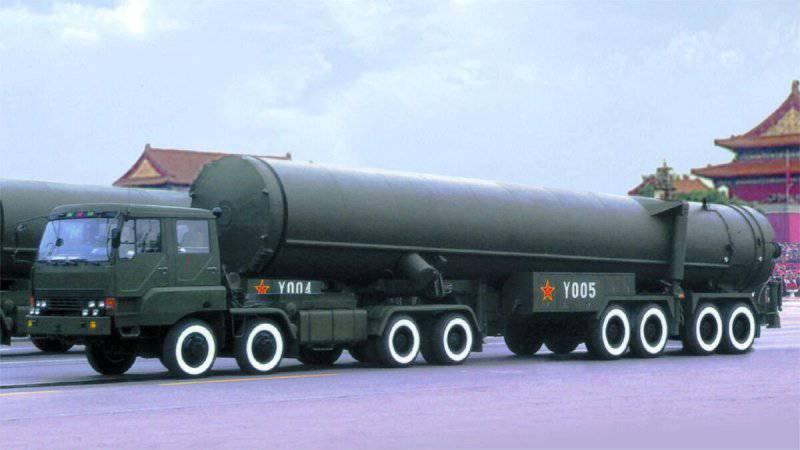 Модернизация ракет в Китае вызывает у Вашингтона тревогу