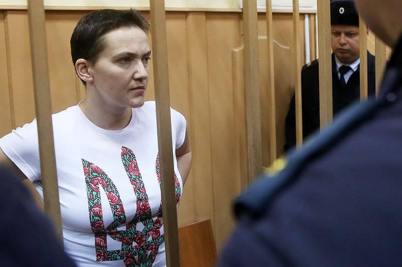 Рада обратилась к Западу с просьбой надавить на Путина, чтобы тот отпустил лётчицу Савченко