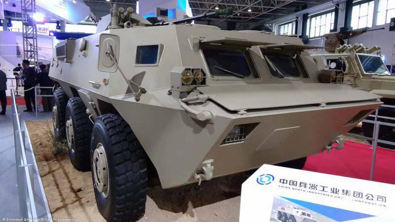 Семейство бронетехники WZ 551 (Китай)