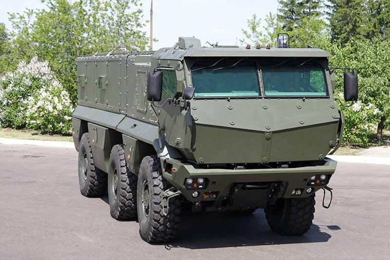 装甲車KAMAZ-63968「台風」