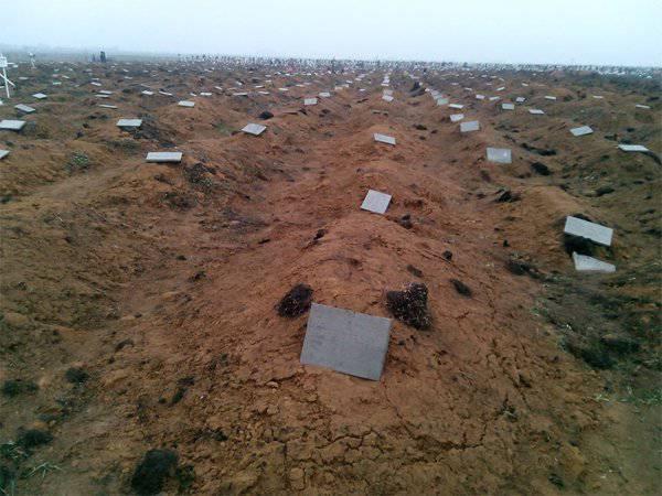 """Odessa Sobre el campo Kulikovo y cientos de tumbas de """"desechos quirúrgicos"""""""