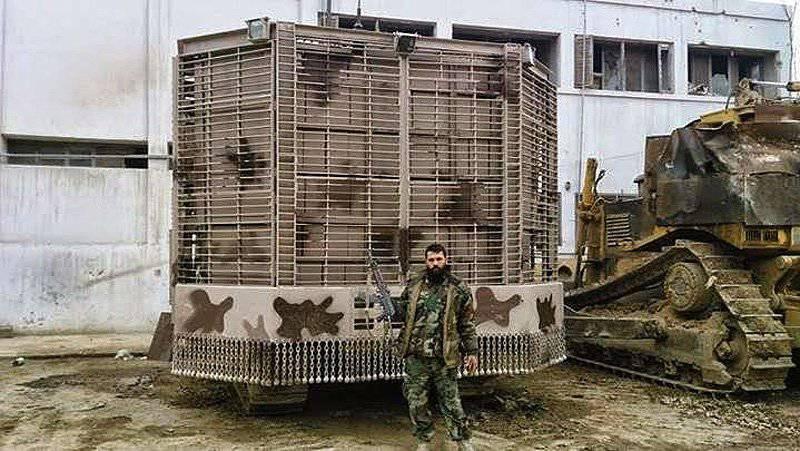 Modernización de los vehículos blindados de la Guardia Republicana Siria: productos de la guerra de cuatro años