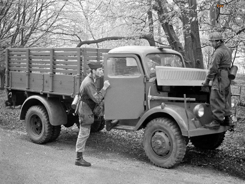 Truck Opel Blitz Wehrmacht Workhorse