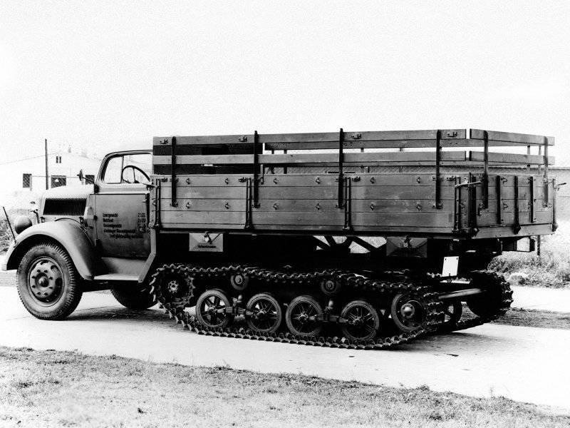 Truck Opel Blitz: Wehrmacht cavallo di battaglia