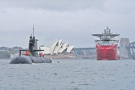 Australien baut eine U-Boot-Flotte