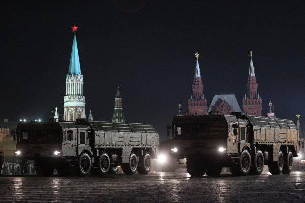 «Искандер-М» против «Першинга-2»