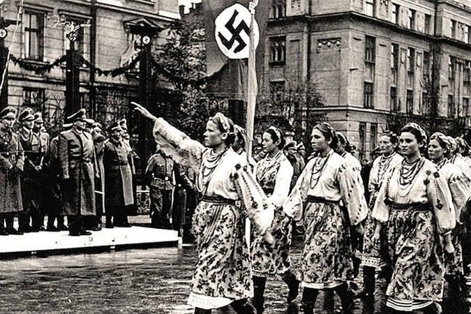 OUN al servizio di Hitler
