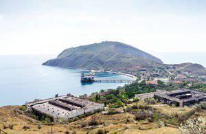 クリミア半島の魚雷の前哨基地