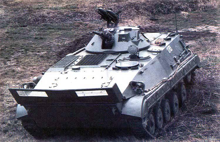 유고 슬라비아의 장갑 차량. 4의 일부. 국가 분열 (1980-1991)