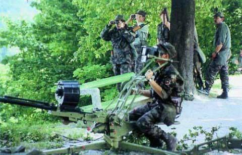 Véhicules blindés de Yougoslavie. Partie de 5. Ruines Wars: la Slovénie et la Croatie
