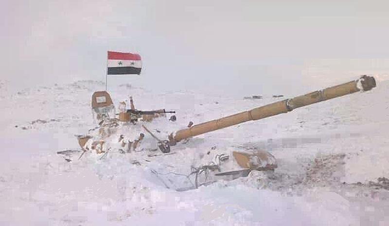 Стальные звери Сирии. T-72