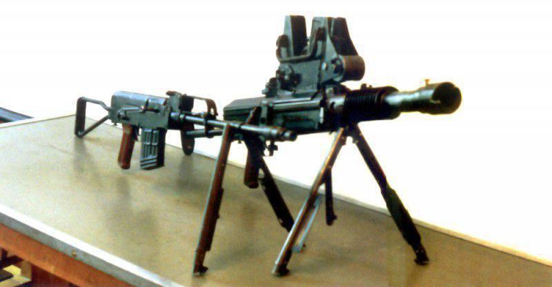 Оружие без отдачи. Система Барышева