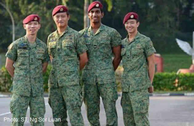 ライオンシティの守護者たち:シンガポール特殊部隊