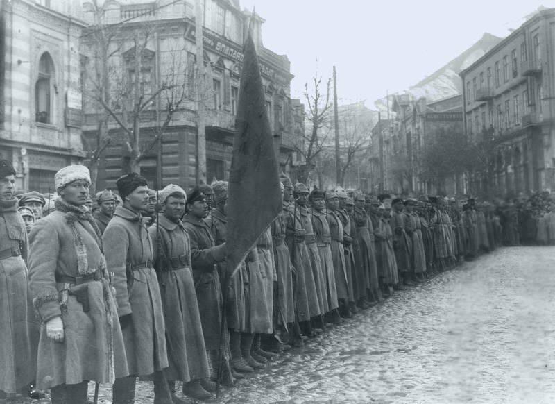 """Sovyet Gürcistan: şimdi """"işgal"""" denir"""