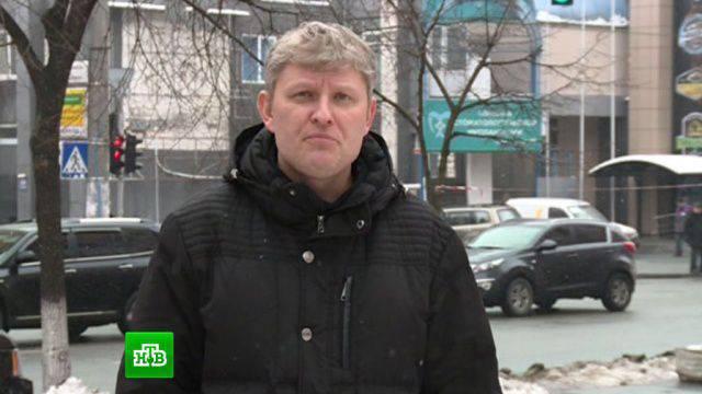 Empleados de la SBU detuvieron a un periodista ruso.