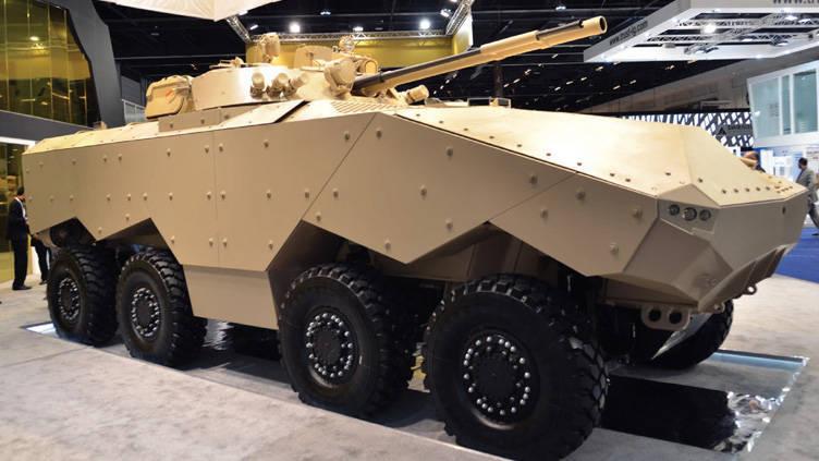 UAE는 장갑차 운반선 EDT Enigma AMFV