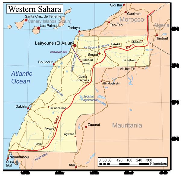 """Sahara sin conquistar. El destino de la república """"parcialmente reconocida""""."""