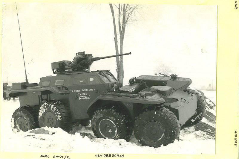 Проект Lockheed Twister: «гибкие» бронемашины из США