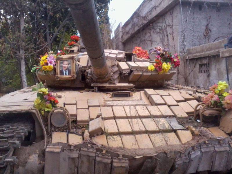 Стальные звери в сирийской войне. T-72