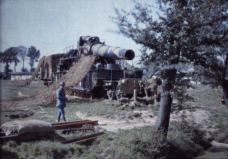 Артиллерия. Когда пушки были большими