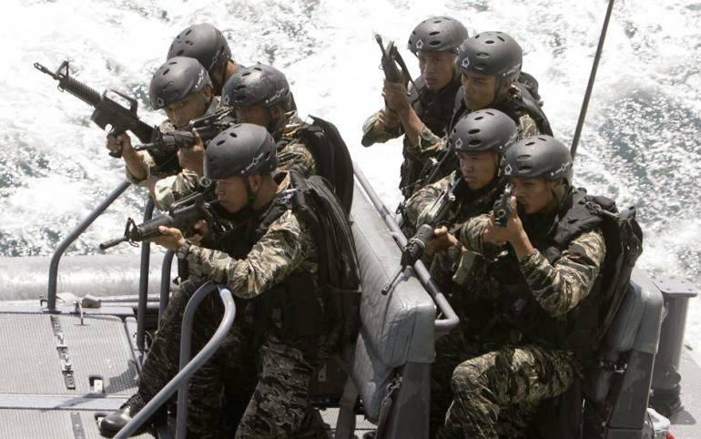Fuerzas especiales de siete mil islas.