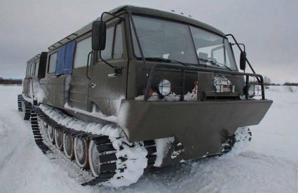 Die arktische Brigade des RF Federation Council erhielt ein neues TTM-4902PS-10-Schnee- und Sumpffahrzeug