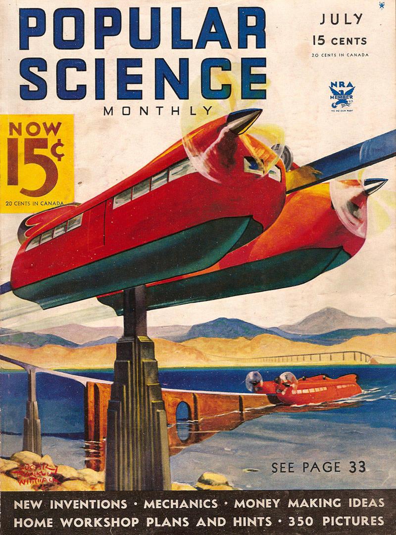 O projeto do engenheiro aeronáutico S.S. Waldner