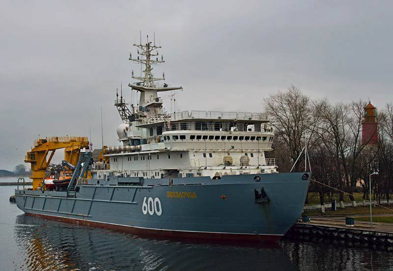 Auxiliary vessels of the 20180 project replenish the Russian Navy