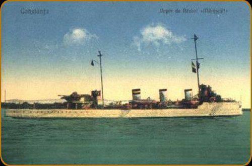 """从手到手。 罗马尼亚驱逐舰的命运类型为""""Merasht""""。 第二部分"""