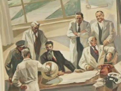 Beria es la protagonista del proyecto atómico URSS.