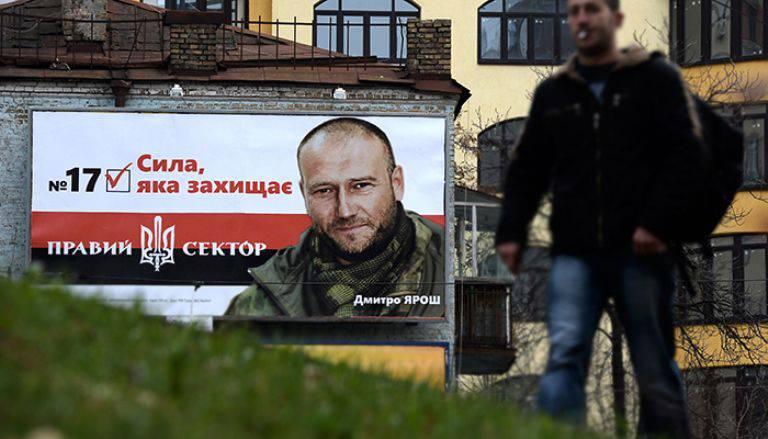 Yarosh ha offerto un posto nello stato maggiore delle forze armate dell'Ucraina