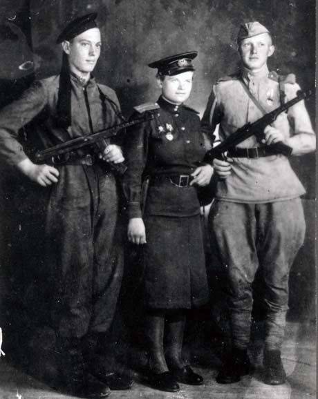 Evdokia Zavaliy - the only girl who commanded a marines platoon