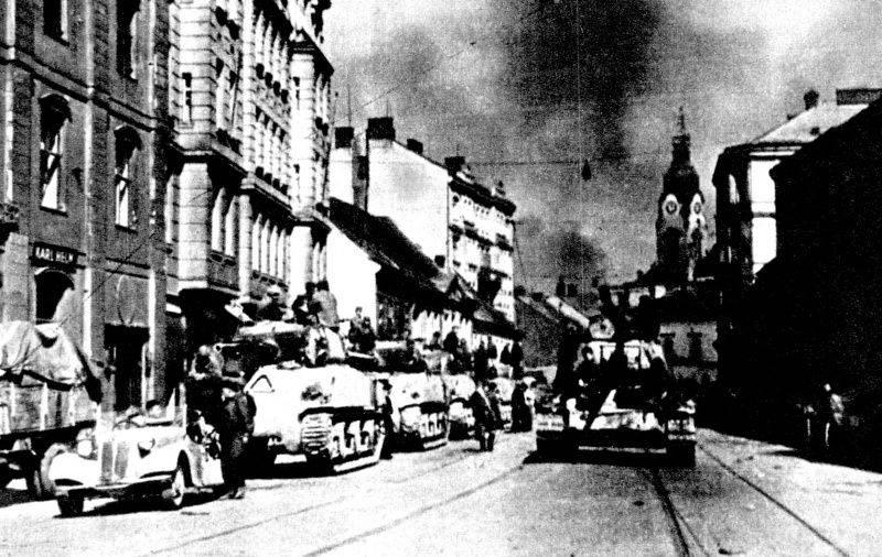 Saldırı Brno ve Pratzen Heights