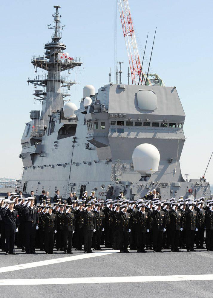 出云直升机载体引入日本舰队