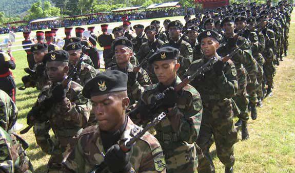 """锡兰特种部队。 主要敌人是""""泰米尔猛虎队"""""""