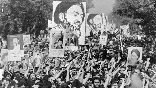 "İran'da İslam devrimi. ""Kırmızı Sektör"""