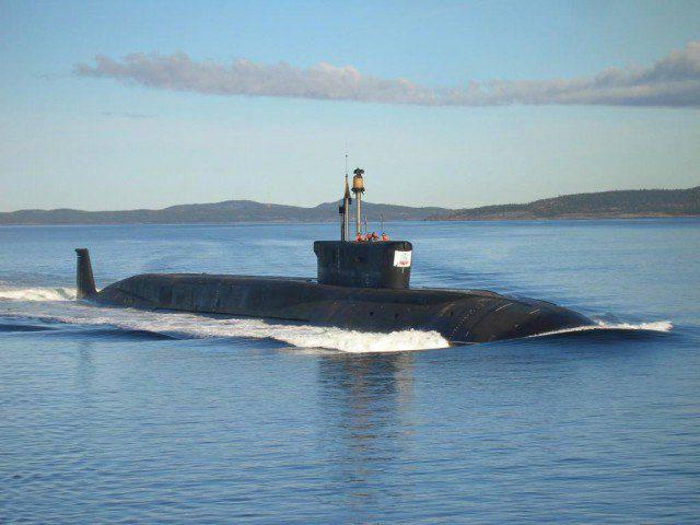 러시아의 핵 잠수함 (2015)