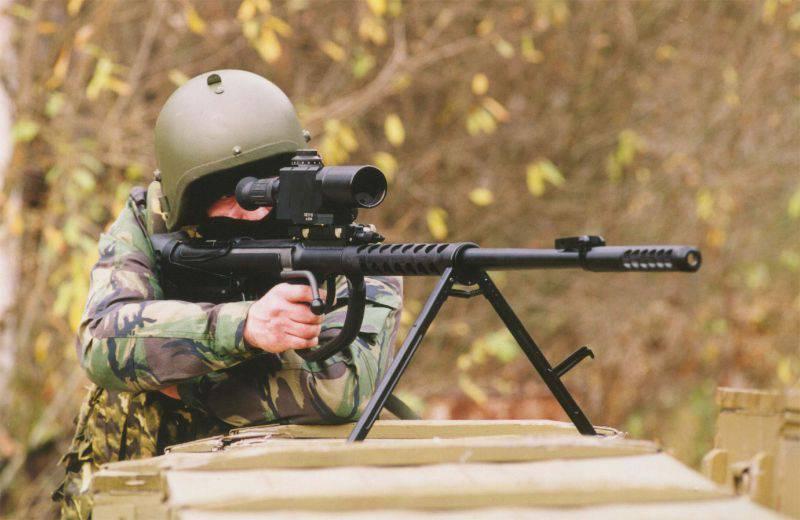 Российские крупнокалиберные снайперские винтовки