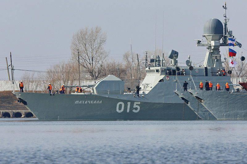 """""""Buyan"""" para a Flotilha Cáspia"""