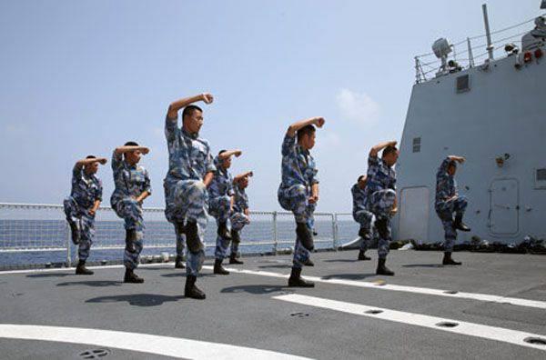 Como no porto de Aden (Iêmen), os pára-quedistas chineses confundiram com os sauditas