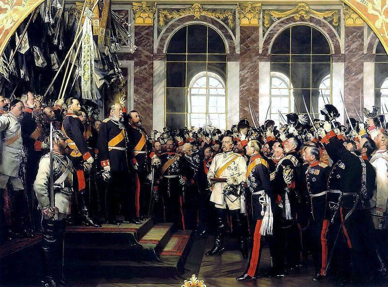 La sconfitta della Francia e la creazione del Secondo Reich