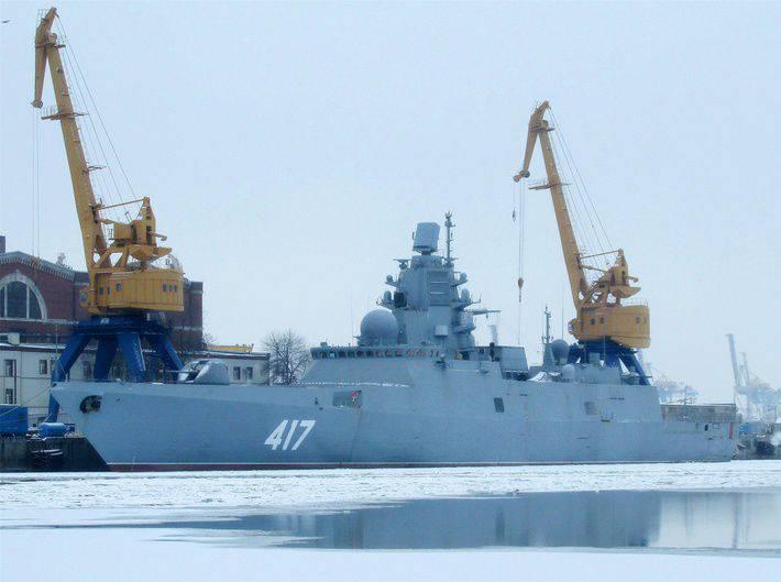 フリゲート艦「Admiral Gorshkov」のテストの第2段階は、北部艦隊の海洋テスト会場で開催されます。