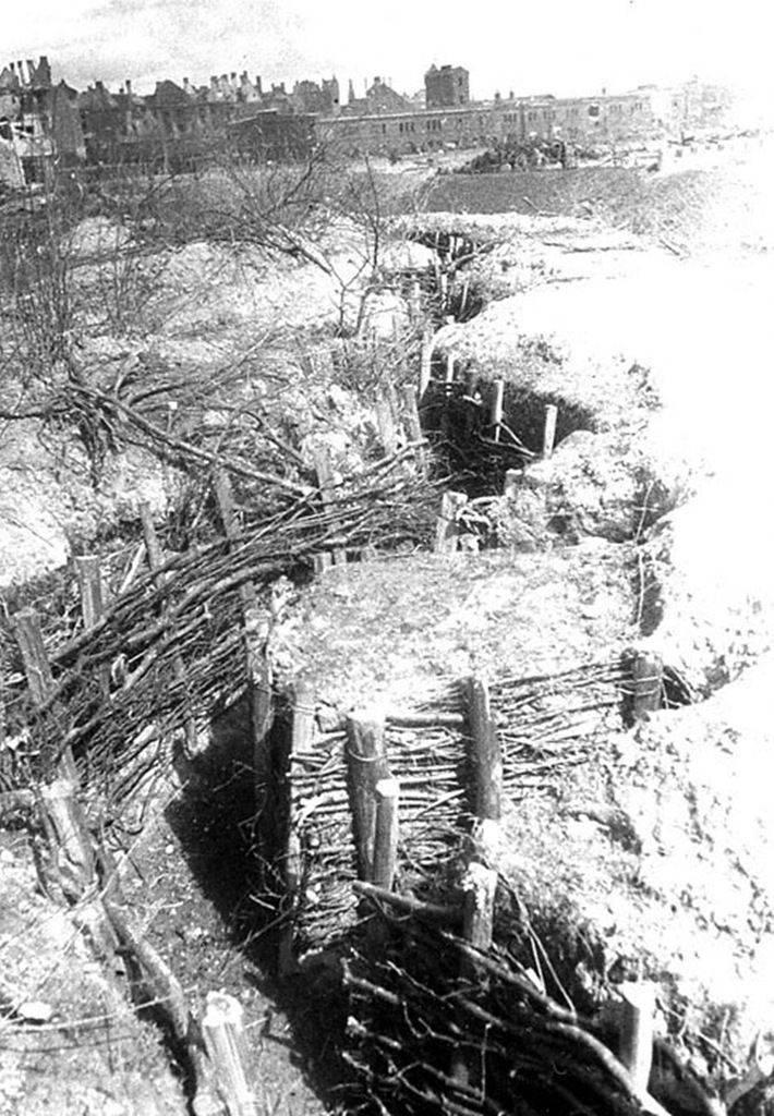 Le deuxième jour de la prise de Königsberg. Changement de racine dans la bataille