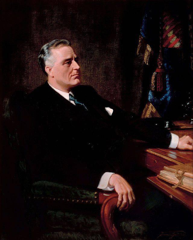 罗斯福的新政服从超级目标:建立美国世界统治