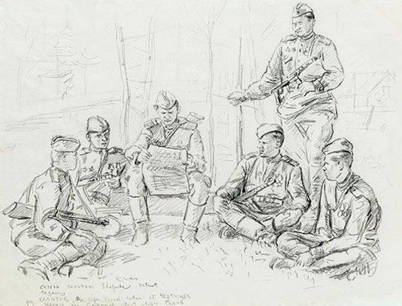 автора рисунки карандашом солдат вов этого необходимо