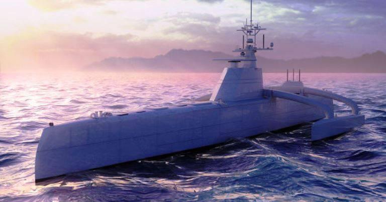 プロジェクト対潜水艦対潜水艦防御ボートACTUV(米国)