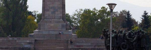 Na Bulgária, mais uma vez profanou um monumento aos soldados-libertadores soviéticos