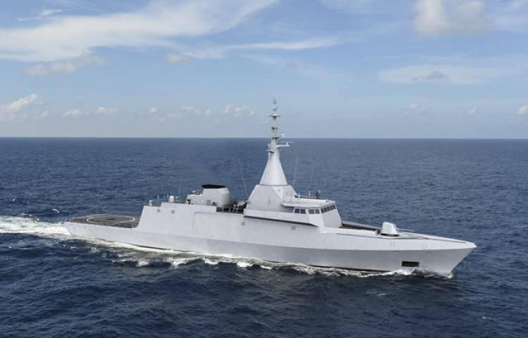 DCNSはエジプト海軍のためのGowindコルベットを作り始めました