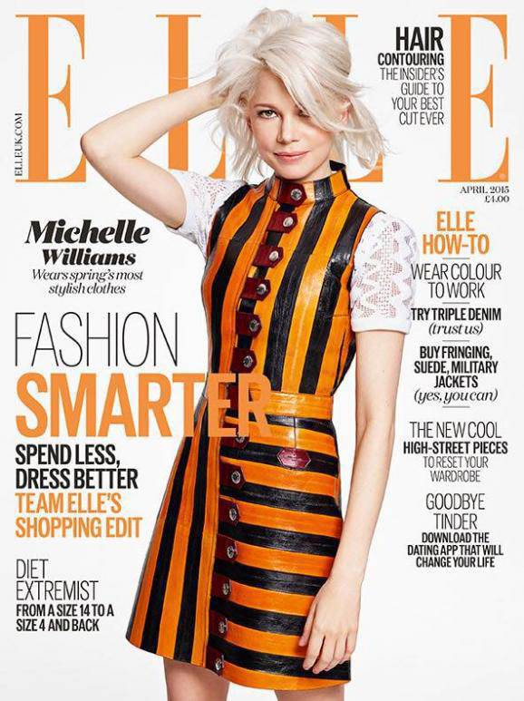 """The cover of the magazine Elle with """"St. George's dress"""" caused a scandal in Ukraine"""