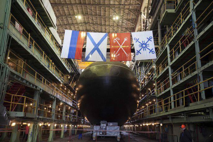सेंट पीटर्सबर्ग में, काला सागर बेड़े के लिए एक और वर्षाशिविका लॉन्च की गई
